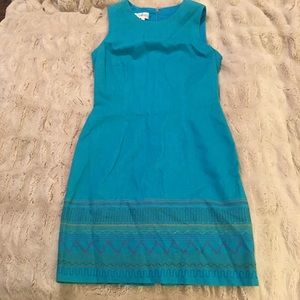 Maggy London blue dress 6